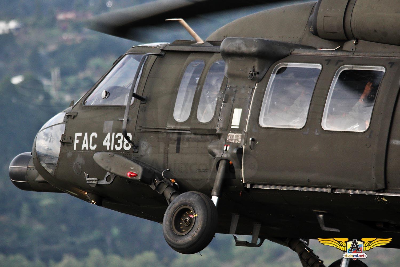 Rescate de un piloto eyectado en el agua durante Ángel de los Andes