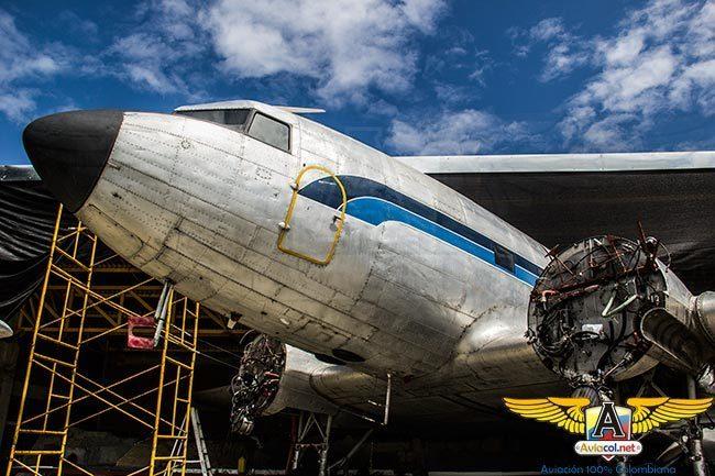 Douglas DC-3 del Museo Aéreo Fénix