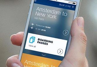 Nueva aplicación movil de KLM