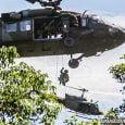 Operaciones aéreas del ejército colombiano contra el narcotráfico
