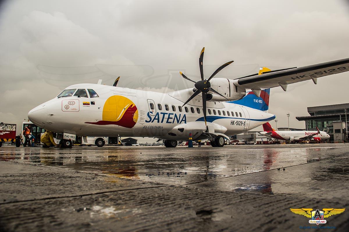Segundo ATR 42-600 de SATENA