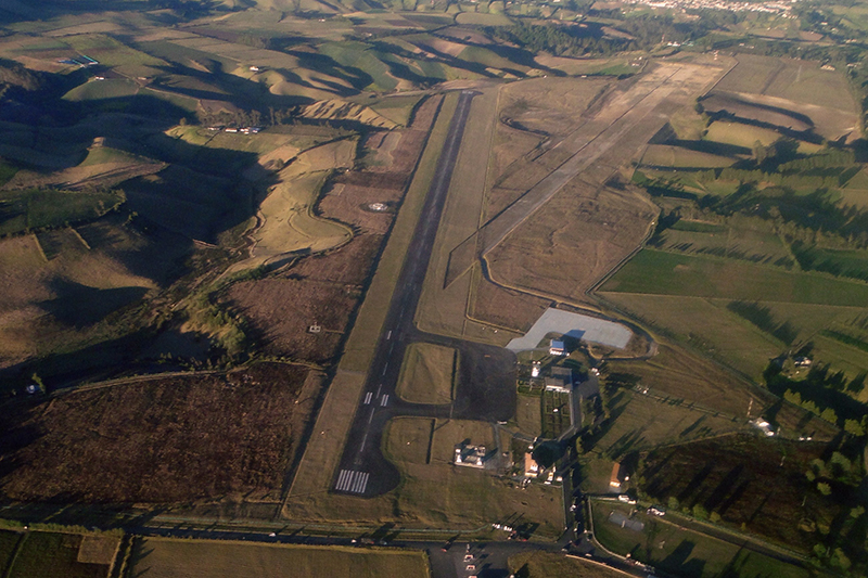 Vista Aérea del Aeropuerto San Luis de Ipiales
