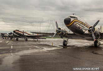 80 aniversario del DC-3