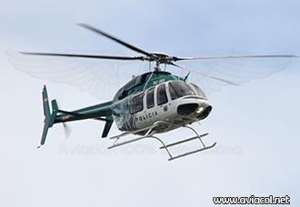 Bell 407 de la Policía de Colombia