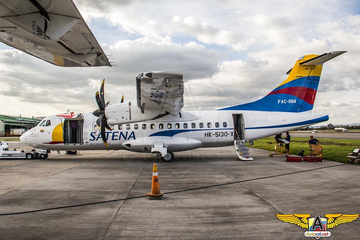 Tercer ATR-42-600 de Satena