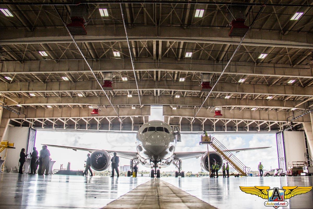 Nuevo Hangar LATAM en Miami