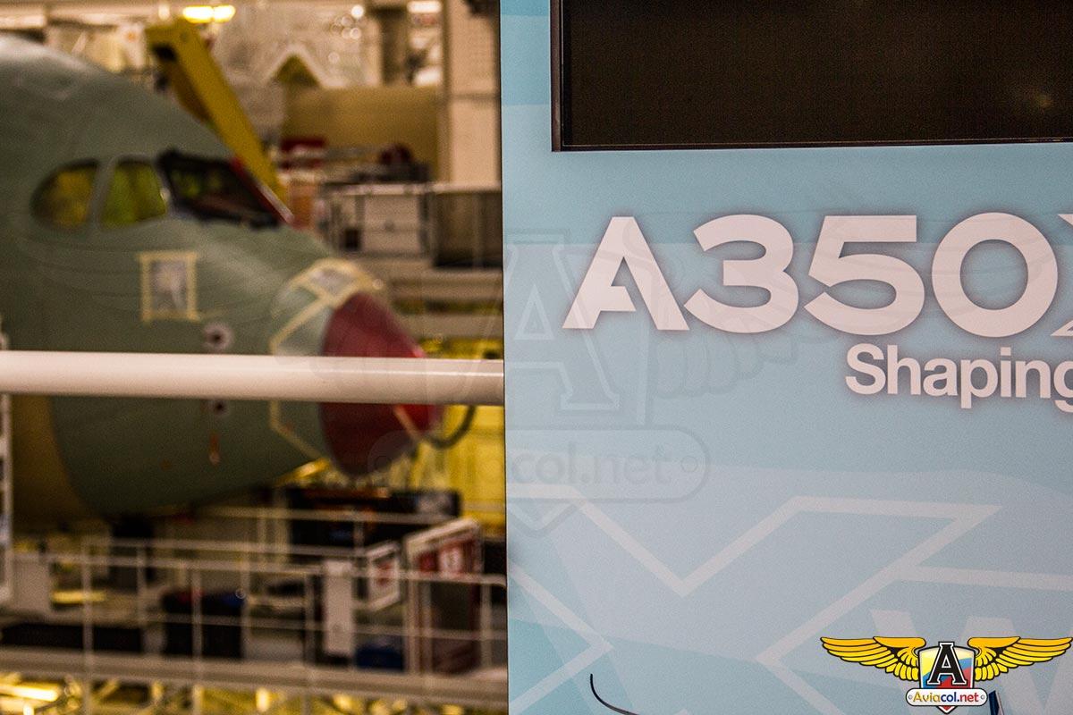 Ensamble del Airbus A350