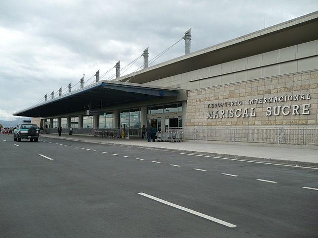Vista exterior del Nuevo Aeropuerto de Quito