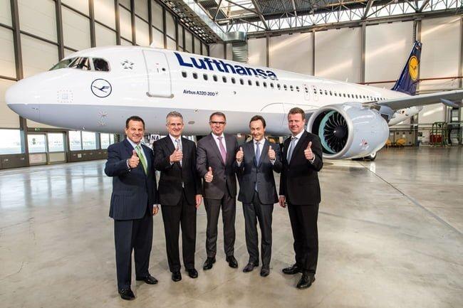 Primer A320 NEO entregado a Lufthansa.