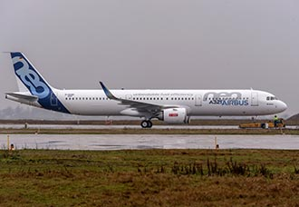 Airbus A321Neo sufre 'tail strike'