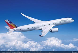 Philippine Airlines selecciona el A350-900