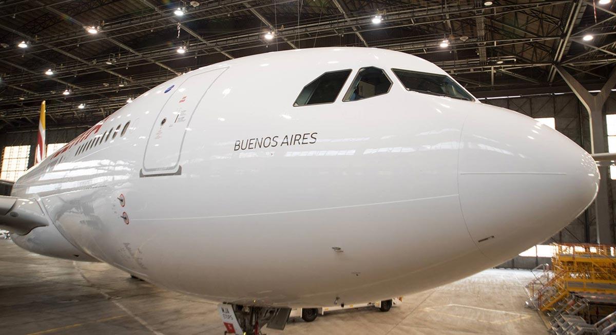 Segundo avión Airbus A330-200 para Iberia