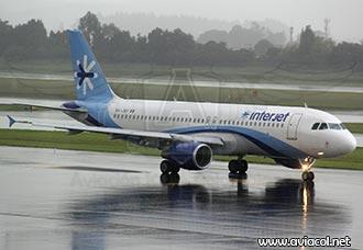 Interjet quiere volar de Bogotá a Cancún