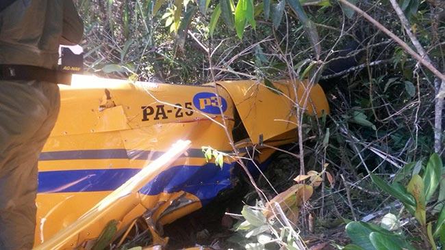 Avión de fumigación se accidentó en Rionegro