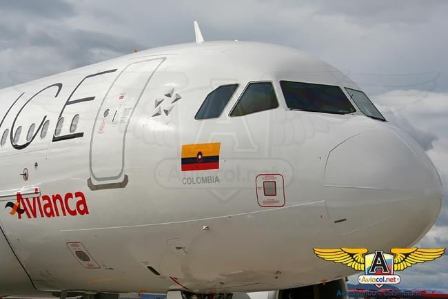 Airbus de Avianca en colores de Star Alliance