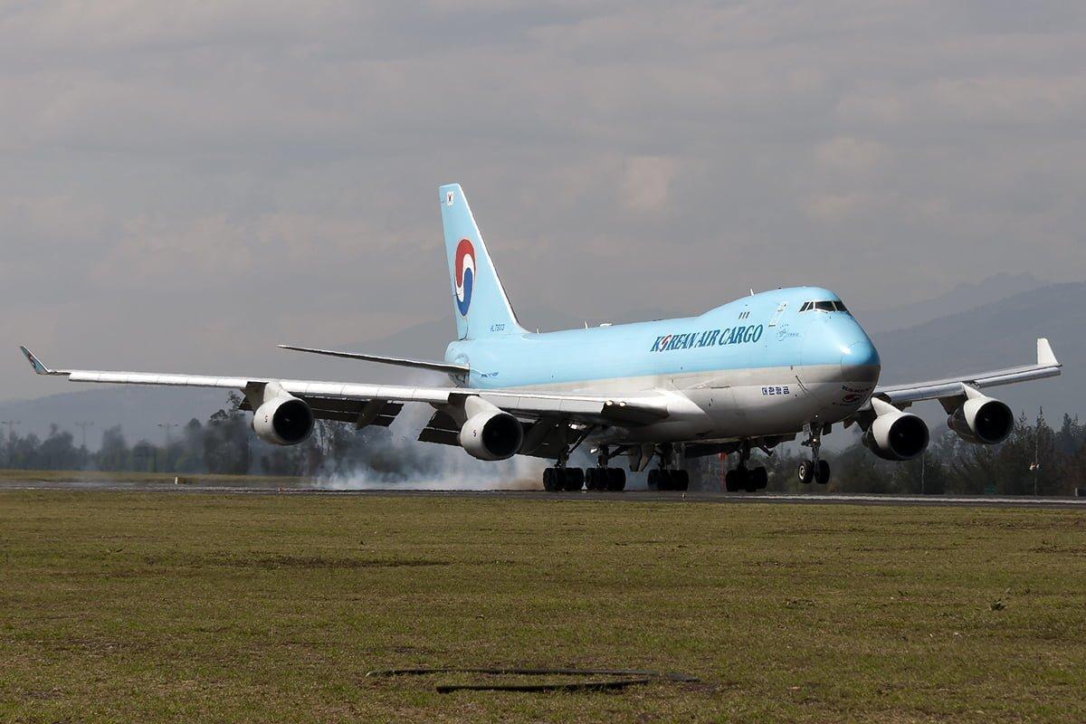 Primer Boeing 747-400F de Korean Air Cargo