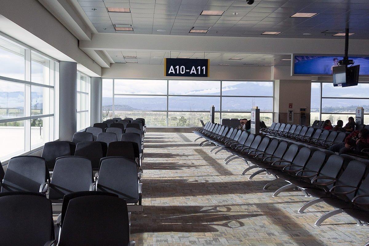 Sala de Embarque Internacional del Aeropuerto Mariscal Sucre