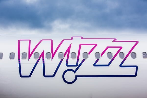 Airbus A321 de Wizz Air con nuevo livery