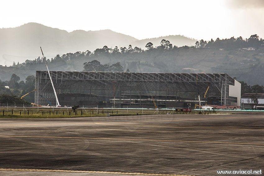 Obras de ampliación del aeropuerto José María Córdova