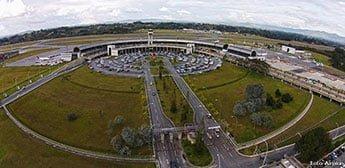 Este es el aeropuerto José María Córdova de Rionegro