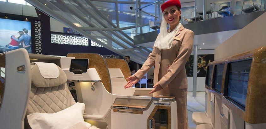 Nuevo asiento de clase ejecutiva en los Boeing 777 de Emirates