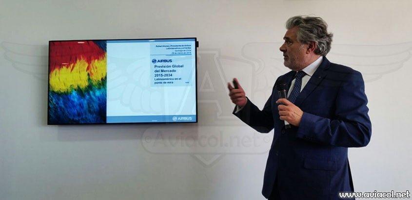 Rafael Alonso, Presidente de Airbus para Latinoamérica y el Caribe