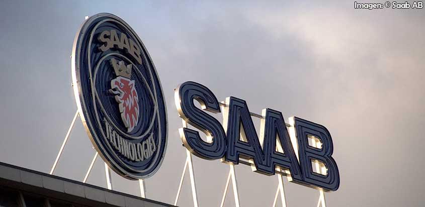 Saab llevará un modelo a escala real del Gripen a FIDAE