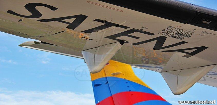 Satena busca alivio a crisis financiera con el gobierno colombiano