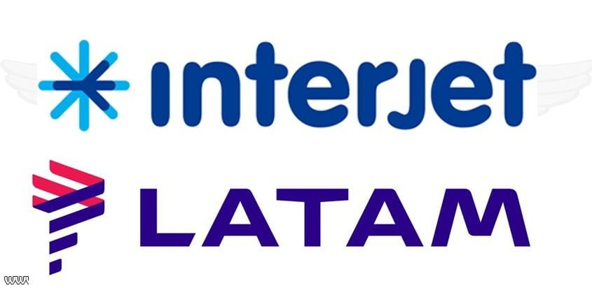LATAM Airlines e Interjet firman acuerdo de código compartido