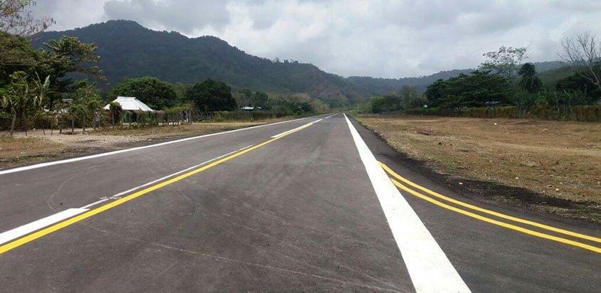 Pista del aeropuerto de Capurganá