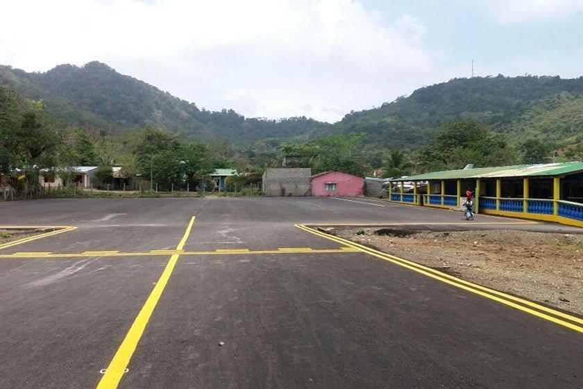 Plataforma del aeropuerto de Capurganá