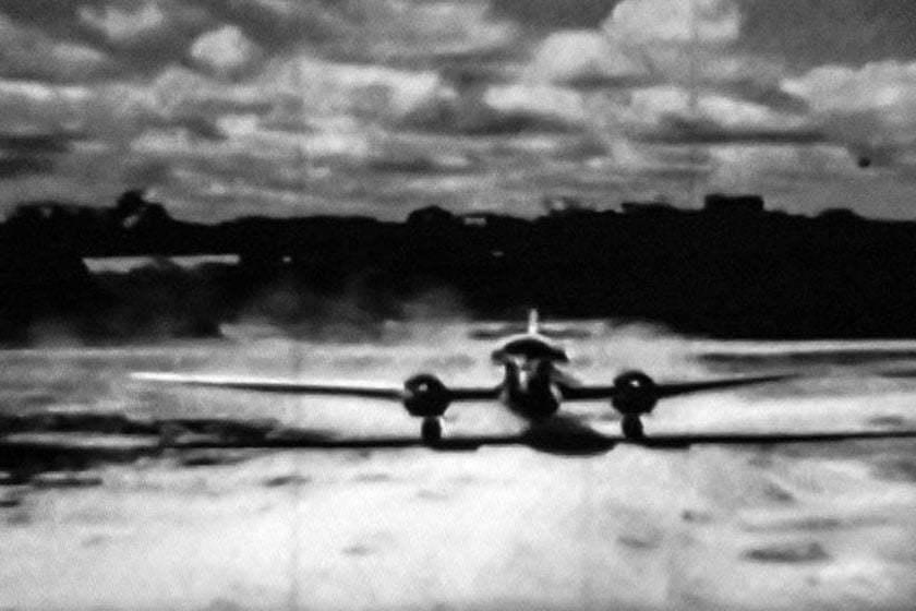 Aeropuerto de Leticia en la década de los 50