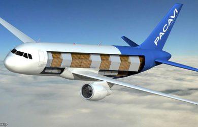 Imagen del A320 carguero (Foto: PACAVI Group)