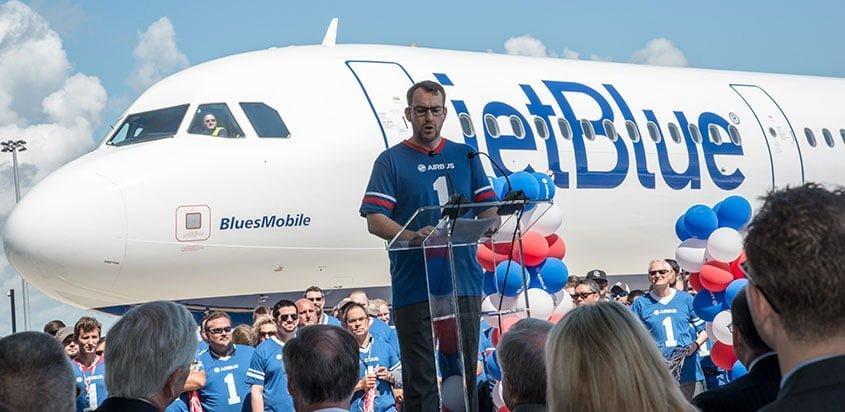 Daryl Taylor, Vpte. y Gte. Gral. de la planta de Airbus en EE.UU. (Foto: Airbus)