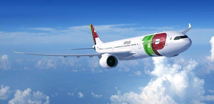 Imagen del Airbus A330neo en colores de TAP