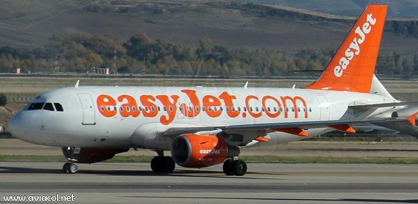 Avión Airbus de easyjet
