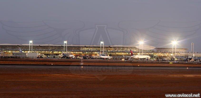 Aeropuerto Arturo Merino Benítez de Santiago de Chile