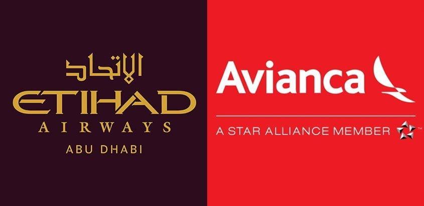 Acuerdo de Avianca y Etihad Airways