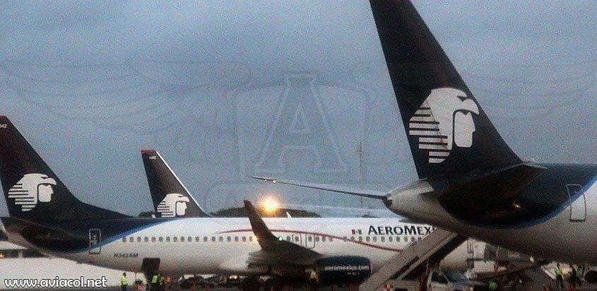 Aviones de Aeroméxico