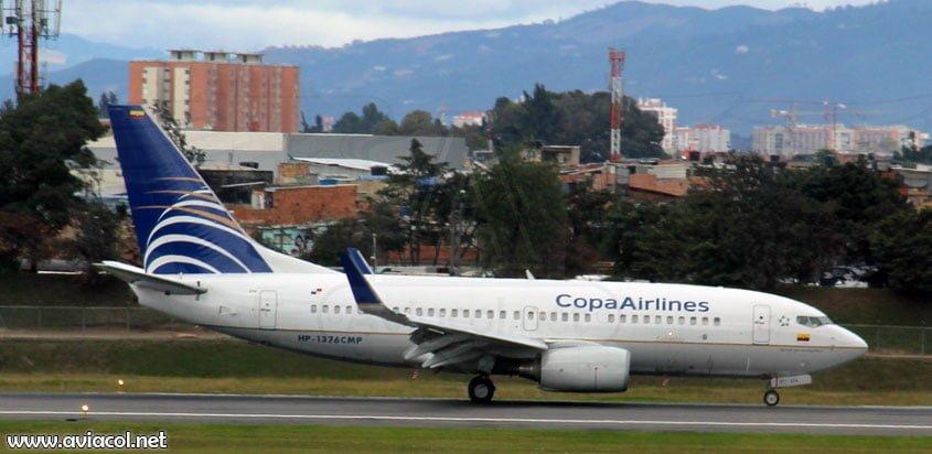 Boeing 737 de Copa Airlines