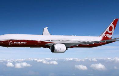 Imagen del Boeing 777X