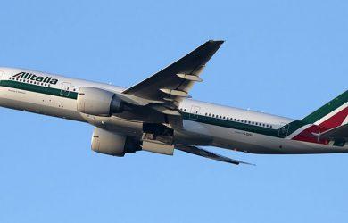 Boeing 777 de Alitalia