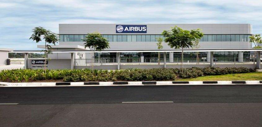 Centro de entrenamiento de Airbus en Singapur
