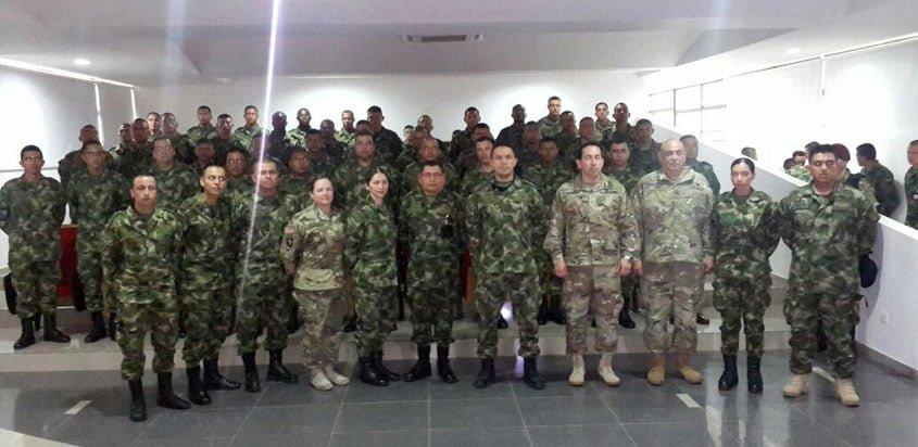 Curso TCCC de Aviación Ejército de Colombia