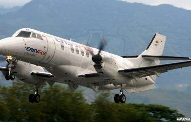 Avión Jetstream 32 de Easyfly
