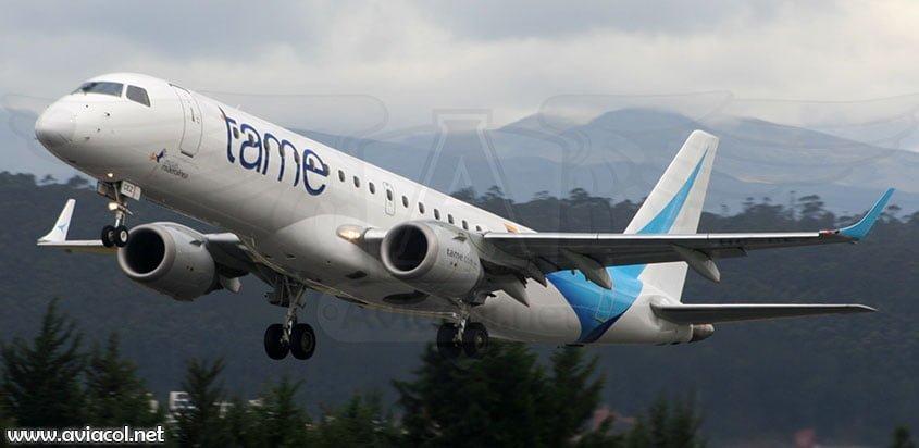 Embraer 190 de Tame