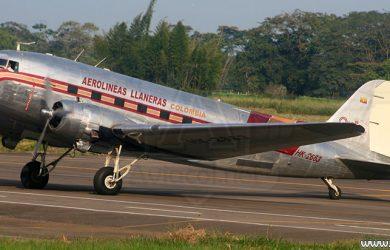 Avión C-47/DC-3, HK-2663