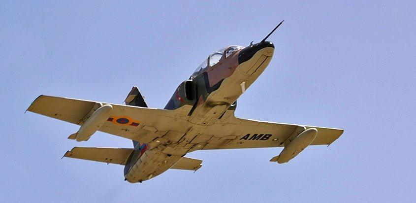 Hongdu K-8W Karakorum de la Aviación Militar Bolivariana de Venezuela