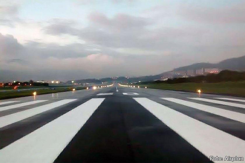 Pista del aeropuerto de Medellín