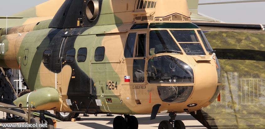 Helicóptero SA330 Puma del Ejército de Chile